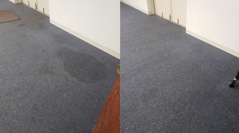CARPET CLEANING IN A MANUFACTURING PLANT